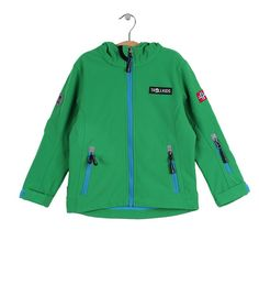 Green Oslofjord Jacket - TrollKids - up to 60% off