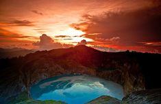 Kelimutu Lake, Ende (Flores Island), Indonesia. (Photo: Wego Photo Contest/Valentino Luis)