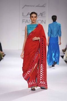 DAY 2 - Purvi Doshi at Lakme Fashion Week 2014