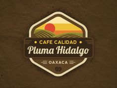 Pluma Hidalgo Logo designed by Javier Rivero. Connect with them on Dribbble; the global community for designers and creative professionals. Dribbble, Creative Professional, Logo Design, Organic Logo, Design, Logos