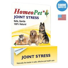 Joint Stress Homeopathic Remedy For Dog Hip & Joint Relief, 15ml liquid drops