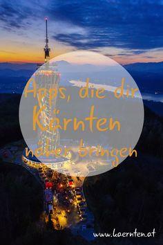 Mit unseren kostenlosen Apps hast du Kärnten immer in der Hosentasche mit dabei. Egal ob Tourenguide, dem verlässlichen Begleiter, der dich immer an das gewünschte Ziel bringt, die Wetter-App, bis hin zum interaktiven Fenster nach Kärnten, das dir egal, wo du dich auch immer auf dieser Welt befindest, einen schönen Ausblick nach Kärnten ermöglicht. #Kärnten #Tourenguide #Wetter #UrlaubinÖsterreich Movie Posters, Movies, Goal, Weather, Hiking, Film Poster, Films, Movie, Film