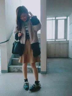 トップス、スカート、バッグを大好きなCECIL McBEEでコーデ💗 やっぱり好きなブランド着てる