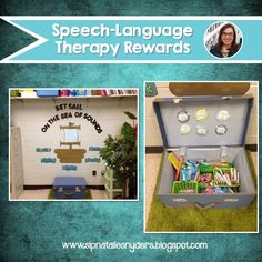 Free no-cost speech therapy rewards and ideas on how to implement!