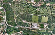 Autodromo, car race circuit in Monza