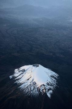 touchdisky:  Volcan Pico de Orizaba | México byCaliopedreams Fotografia