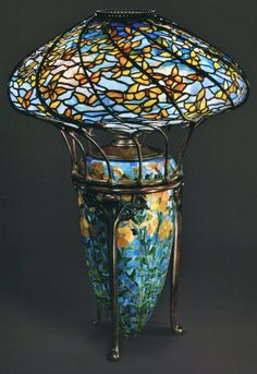 original tiffany lamps | ... . The Lamps of Louis Comfort Tiffany , by Martin Eidelberg, et al