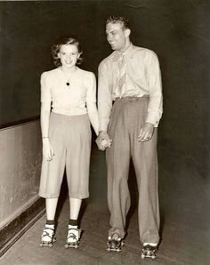 Judy Garland on a date with Robert Stack - 1941