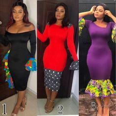 Prints And Style From Ankara - Fashion Ruk Latest Ankara Gown, Ankara Gown Styles, Latest African Fashion Dresses, Ankara Dress, African Attire, African Wear, African Dress, Next Fashion, Fashion Outfits
