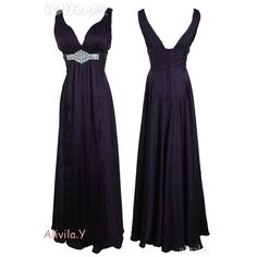 dark-purple-double-v-neck-maxi-evening-prom-dress-25221-34e2a.jpg... ❤ liked on Polyvore featuring dresses, evening maxi dresses, holiday maxi dresses, purple evening dresses, prom dresses and cocktail prom dress
