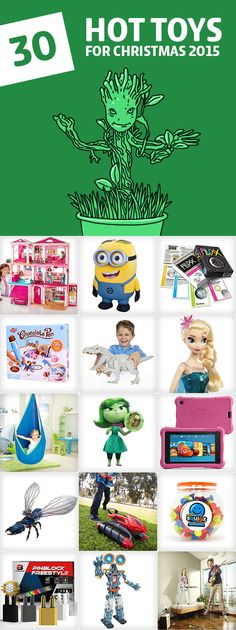 Parents, save this list! This is the holy grail for the best toy gift ideas and has all the hot toys for Christmas 2015.
