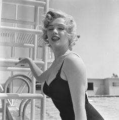 "Image - 1952 / Marilyn et Cary GRANT lors du tournage de ""Monkey business"". - Wonderful-Marilyn-MONROE - Skyrock.com"