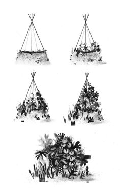 How to live in the jungle (when there isn't one). Excerpt from The Art of Hiding, an ongoing visual exploration on the poetic nature of intimate space, through the narrative medium of picture-book illustration. Eleni Debo