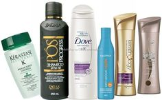 Shampoos para cabelos com progressiva.
