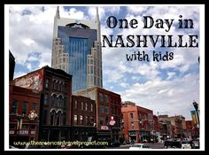 One Day in Nashville with Kids - The American Travel Project Nashville Attractions, Nashville Vacation, Visit Nashville, Tennessee Vacation, Visit Tennessee, Cheap Family Vacations, Family Vacation Destinations, Vacation Trips, Vacation Ideas