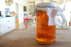 Lovely post on embracing fermented foods