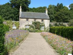 Gardeners Cottage at Culzean Castle Scotland