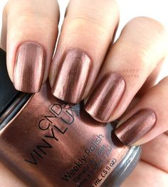 """CND Vinylux """"Leather Satchel"""" -- The Happy Sloths: CND Fall 2016 Craft Culture Collection"""