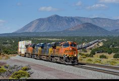 RailPictures.Net Photo: BNSF 5771 BNSF Railway GE ES44AC at Winona, Arizona by Tim Stevens Bnsf Railway, Choo Choo Train, Southern Railways, Diesel, Arizona, America, Usa, Trains, Diesel Fuel
