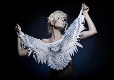 Grace Lepard: Owl Shawl