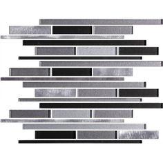 Description Details Grey Glass Aluminum Random StripItem MosaicSize: 1 Square FootMaterial Type: Glass & MetalSurface Finish: Mixed Tile Thickness: 10 mm Weight Per Piece: KGS Pieces Per Box: 5 pcs Boxes Per Pallet: 90 boxes Country of Origin: China Grey Glass, Mosaic Tiles, Country Of Origin, Mosaic Pieces