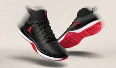 6dc58a14e469 Nike Air Jordan Trainer 1 Training Shoe (9) Black Anthracite Gym Red 845402- 001