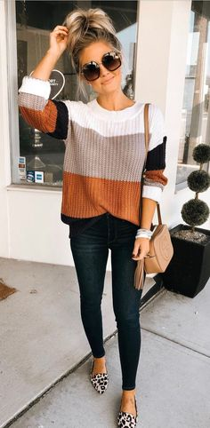 71 Flawless Fall Winter Outfits for Women: The cold season is no reason to abandon beautiful dresses, especially since among the trendy fall-winter outfits there are very comfortable, cozy and warm dresses. New trends in fall-winter fashion offer ver Winter Outfits For Teen Girls, Casual Winter Outfits, Casual Fall Outfits, Winter Fashion Outfits, Look Fashion, Trendy Outfits, Winter Clothes Women, Cute Fall Clothes, Fall Outfit Ideas