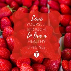 Love yourself enough to live a healthy lifestyle. Heath Quotes, Low Carb Recipes, Healthy Recipes, Clean Diet, Healthier You, Heart Health, Fitness Diet, Healthy Habits, Fitness Inspiration