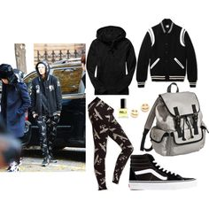 Topp Dogg Xero's Street Fashion Inspired Outfit by smokingcrayonz on Polyvore featuring Old Navy, BOY London, Vans, Mossimo Supply Co., Bing Bang and ncLA