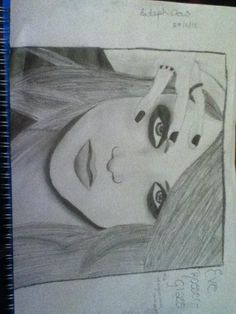 My drawing of Eve Rosser from The Morganville Vampires!