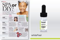 I've got hyper-pigmentation. How can I get an even skintone?  For a more even skintone without the stinging and downtime of most peels whitePeel from Medik8 is a mild yet packs a powerful punch against pesky sun damage, by gently exfoliating skin to brighten instantly.  Read more: http://www.medik8.com.cy/glamour-uk-whitepeel/