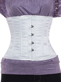 Steel Boned Underbust Corset in Satin (CS-305) / great price, not sure about durability though