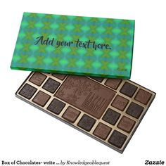 Box of Chocolates- write your message on the cover