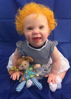 9406be39ce50cd Custom Order! Reborn Lifelike Lenya by Riva Schick COA Baby Girl Boy Doll  Art