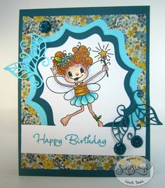 Wishing Fairy for Sweet Stamps LLC, January 2016, created by Leah Tees, odetopaper.blogspot.ca