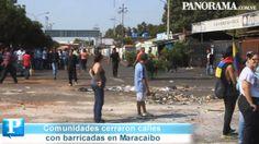 Con barricadas cerraron el tráfico en Maracaibo. Luis Bravo 24-02-14