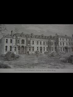 Croydon General Hospital 1930 High Road, Croydon, General Hospital, Surrey, Vintage Photos, Louvre, History, Travel, Historia