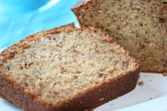 This is the best banana bread I have ever had.  I buy really ripe bananas just so I can make this :-)  Got the recipe years ago from my friend Rachel.  We used to beg her to make this for us in college!  I think the moistness is due to the 1/2 cup of oil - I didnt say it was the healthiest banana bread around, but it is worth the extra time on the treadmill!