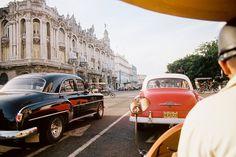 Time Warp –Speeding through Havana, Cuba in an open-air coco-taxi. / by…