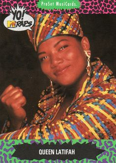 Queen Latifah 1991 - YO - MTV Raps #138