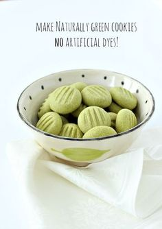 Naturally dye baked goods green with matcha