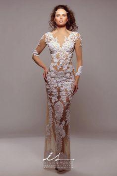 Innovative Wedding Dresses by IS Design House signed by the designer Ibrahim El Sharif   jaglady
