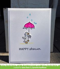 Lawn Fawn - Hello Baby + coordinating dies _ card by Lynnette for Lawn Fawn Design Team