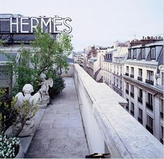 Hermés' secret museum, high above the Rue du Faubourg St-Honoré.~I missed this, but good chance for next time.