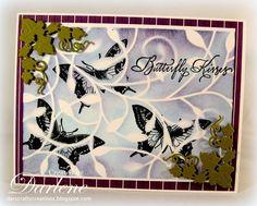 Dar's Crafty Creations: Stamp over Stencil . . .