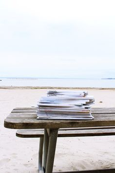 Magazines and the beach....dream day