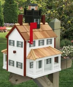 Wood Mailbox Design Ideas