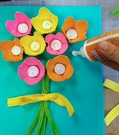 Easy Kids Egg Carton Art