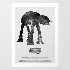 Buy Star Wars - The Empire Strikes Back Art Print by hydrology. Worldwide shipping available at Society6.com. Just one of millions of high quality products available.