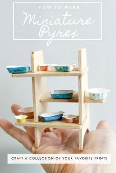 how to make miniature pyrex